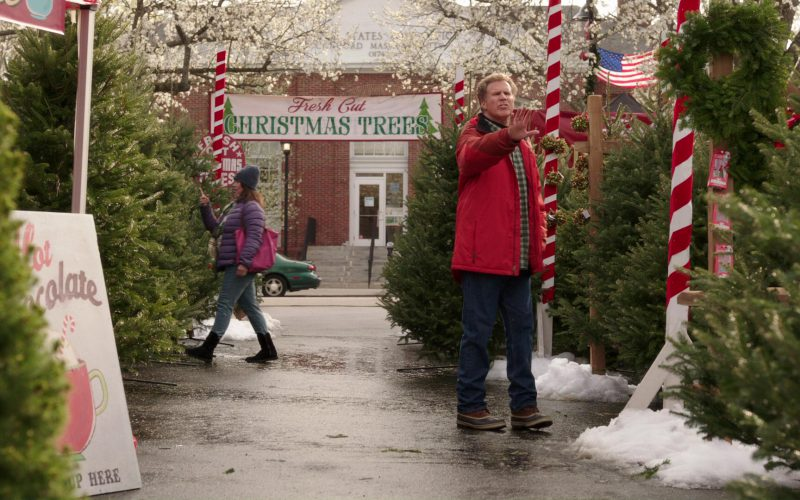 L.L.Bean Jacket and SOREL Caribou Shearling-Lined Waterproof Leather Snow Boots in Daddy's Home 2 (1)