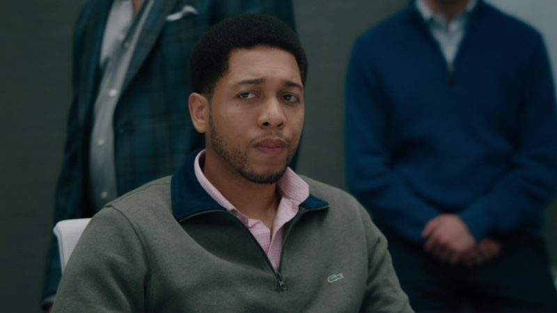 Lacoste Men's Sweater in Billions: Tie Goes to the Runner (2018) TV Show Product Placement