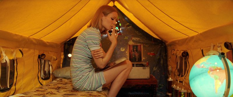 Lacoste Women's Striped Polo Dress Worn by Gwyneth Paltrow in The Royal Tenenbaums (2001) - Movie Product Placement