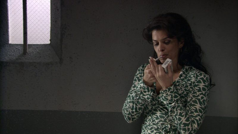 Marlboro Cigarettes and Annabella Sciorra in Find Me Guilty (2006) Movie Product Placement