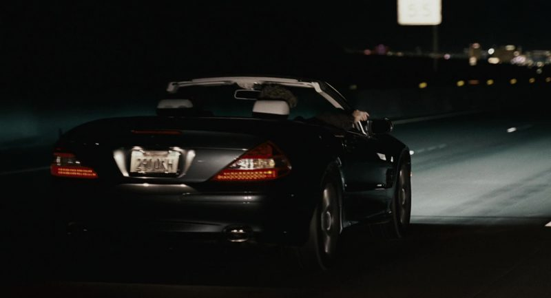 Mercedes-Benz SL550 [R230] Used by Paul Rudd in Knocked Up (2007) Movie Product Placement
