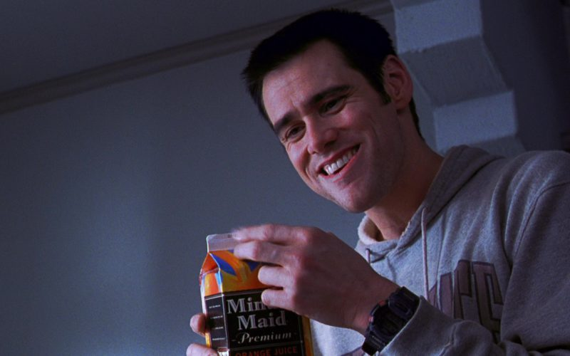 Minute Maid Premium Orange Juice and Jim Carrey in The Cable Guy (1)