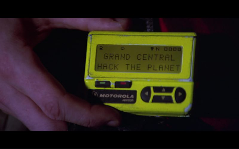 Motorola Advisor Pager (Yellow) Used by Matthew Lillard in Hackers