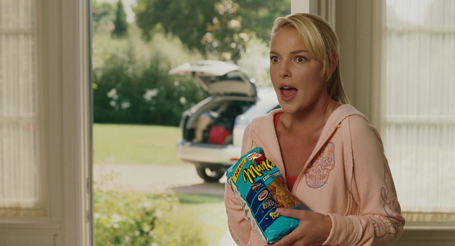 Munchies Snack Mix And Katherine Heigl In Knocked Up (2007 ...
