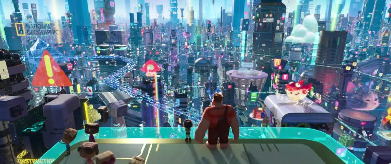National Geographic in Ralph Breaks the Internet: Wreck-It Ralph 2 (2018) - Animation Movie Product Placement