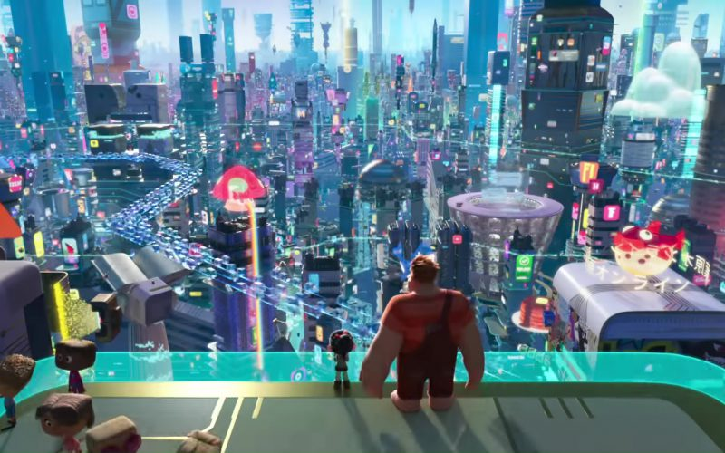 National Geographic in Ralph Breaks the Internet Wreck-It Ralph 2