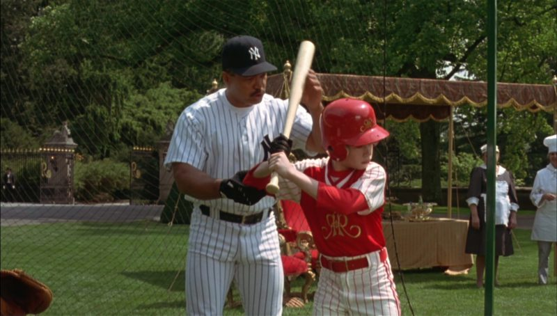 New York Yankees (Reggie Jackson) in Richie Rich (1994) - Movie Product Placement