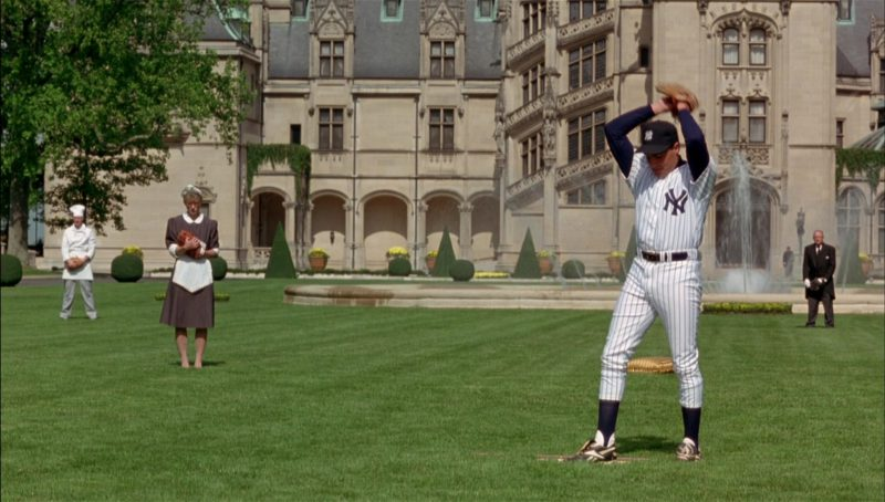 New York Yankees and Reebok Baseball Cleats in Richie Rich (1994) Movie Product Placement