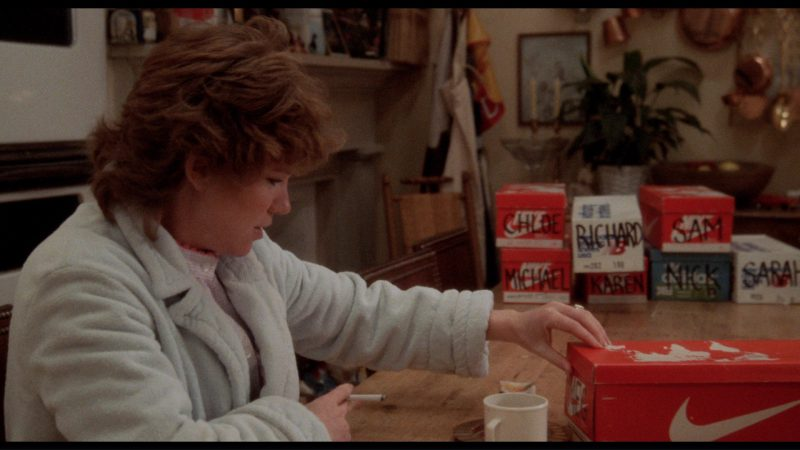 Nike, Adidas and New Balance in The Big Chill (1983) Movie Product Placement