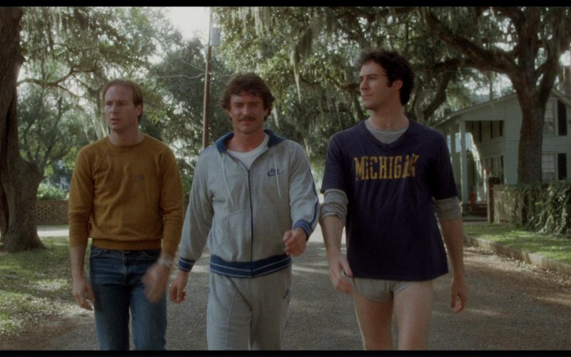 Nike Hoodie and Sweatpants Worn by Tom Berenger in The Big Chill (1)