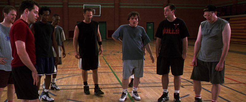 Nike Men's Sneakers and Socks in The Cable Guy (1996) Movie