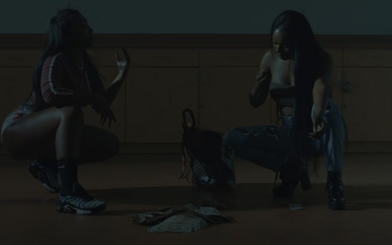Nike Sneakers And Socks Worn by Model in Real Thing by Tory Lanez ft. Future (1)