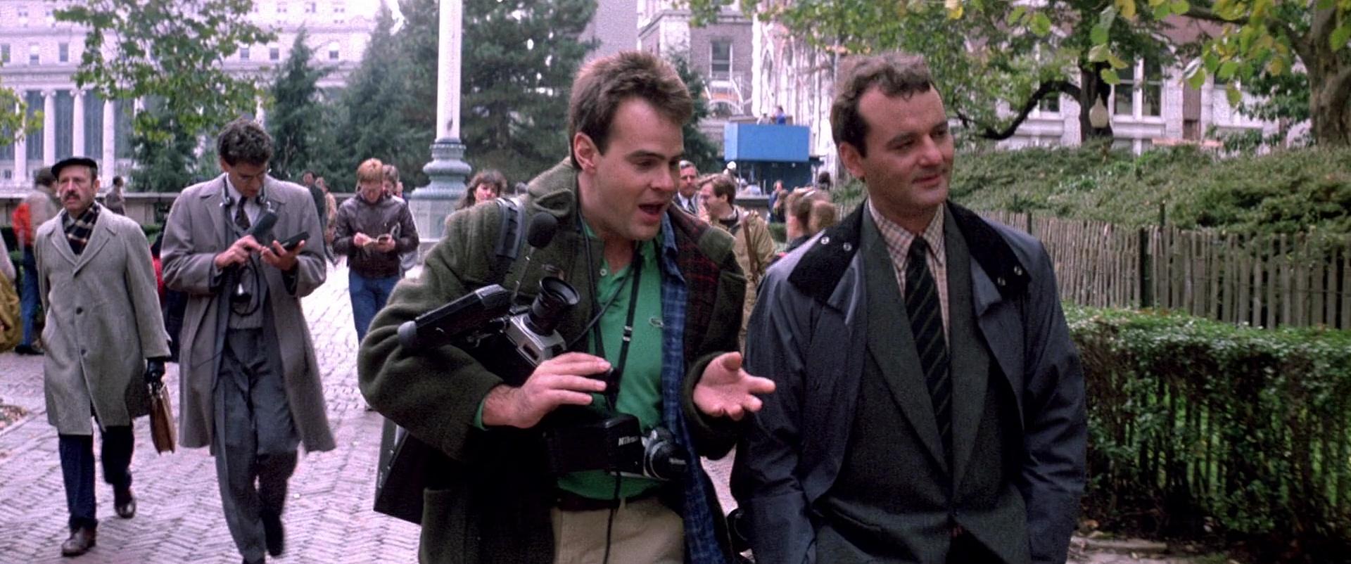Nikon Cameras Used By Dan Aykroyd In Ghostbusters 1984 Movie