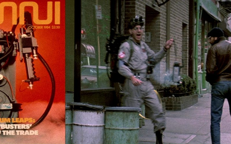 Omni Magazine in Ghostbusters (1)