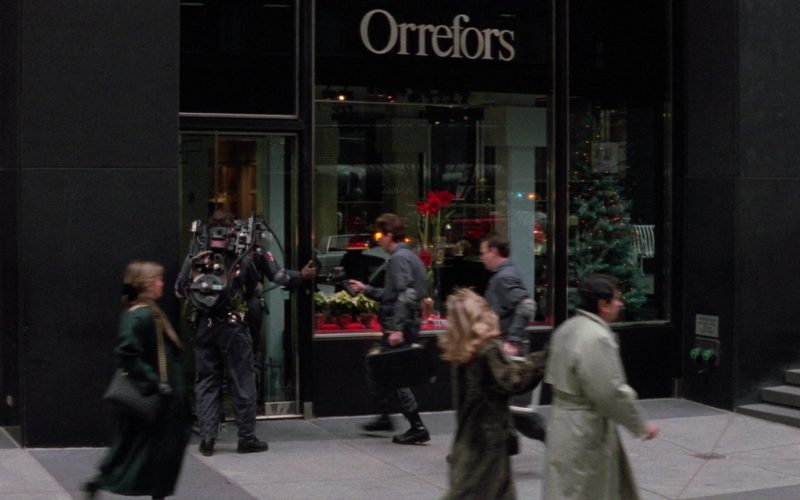 Orrefors Store in Ghostbusters 2