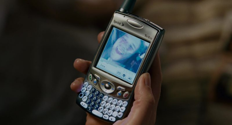 Palm Treo and Sprint Phone Used by Katherine Heigl in Knocked Up (2007) - Movie Product Placement