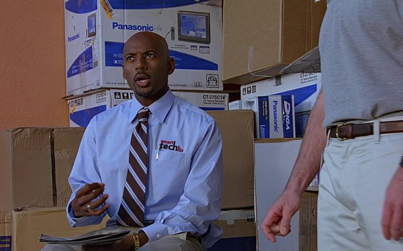 Panasonic Boxes in The 40-Year-Old Virgin (1)