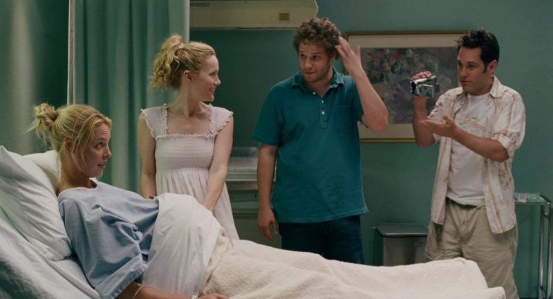 Panasonic Camcorder Used by Paul Rudd in Knocked Up (2007) Movie Product Placement