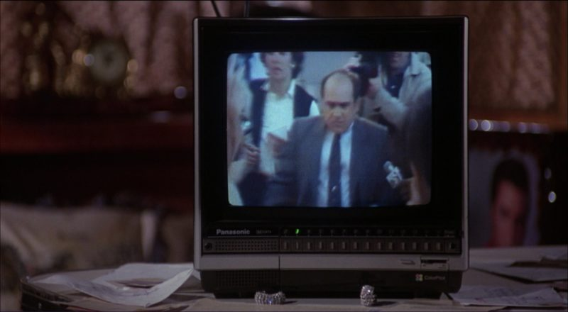 Panasonic Mini TV in Ruthless People (1986) Movie Product Placement