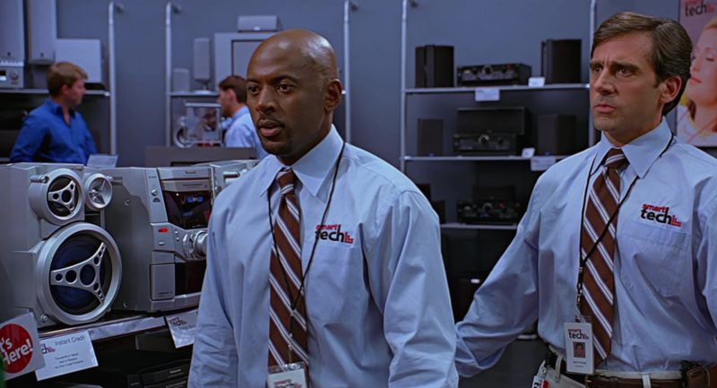 Panasonic Stereo System in The 40-Year-Old Virgin (2005) - Movie Product Placement