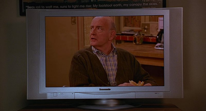 Panasonic TV's Used by Steve Carell in The 40-Year-Old Virgin (2005) - Movie Product Placement