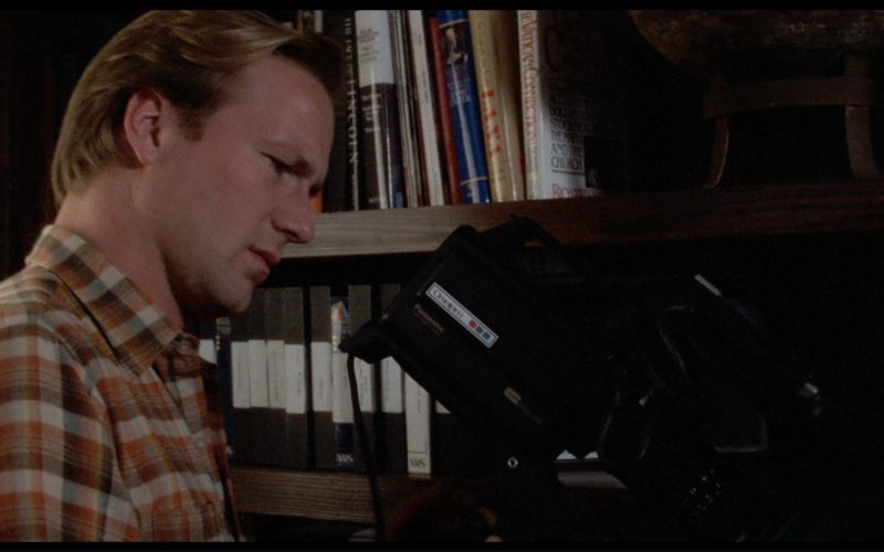 Panasonic Video Camera Used by William Hurt in The Big Chill (1)
