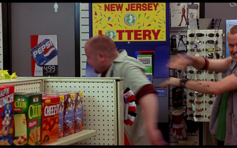 Pepsi Posters and Cap'n Crunch, Club Crackers, Cheez-It, Cream of Wheat in Harold & Kumar Go to White Castle