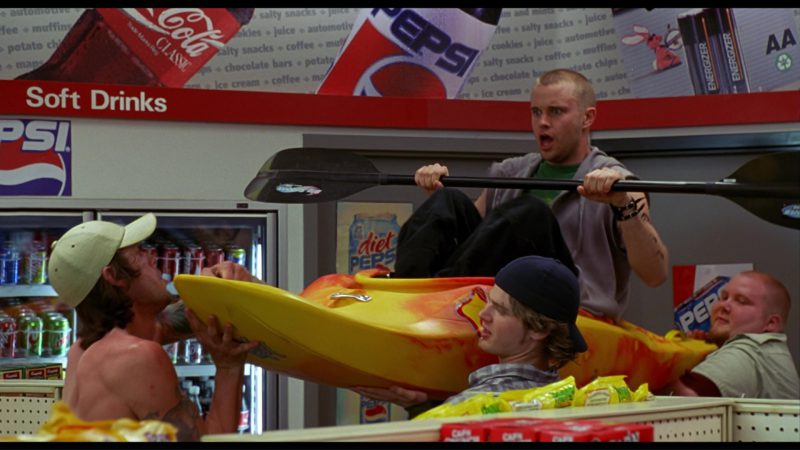 Coca-Cola, Pepsi and Energizer in Harold & Kumar Go to White Castle (2004) - Movie Product Placement