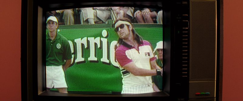 Perrier and Fila Polo Shirt in The Royal Tenenbaums (2001) - Movie Product Placement