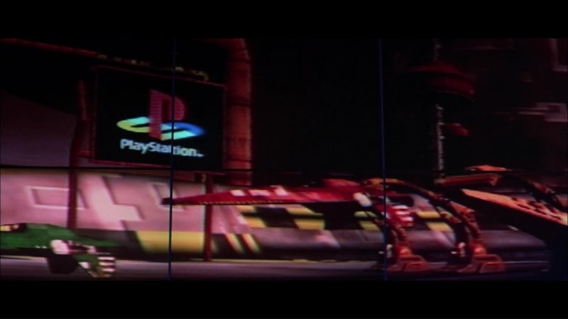 Sony PlayStation Video Game in Hackers (1995) - Movie Product Placement