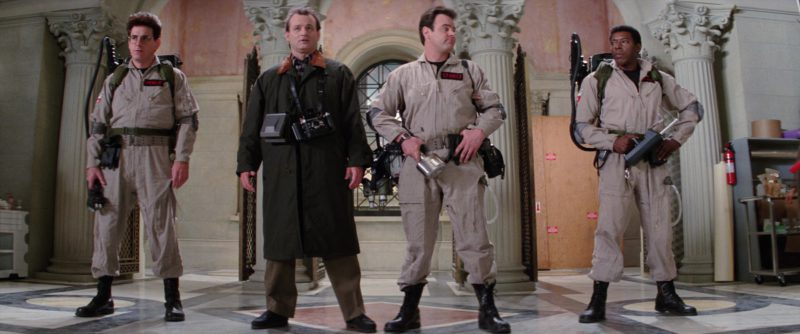 Polaroid and Brooks Veriwide Cameras Used by Bill Murray in Ghostbusters 2 (1989) - Movie Product Placement