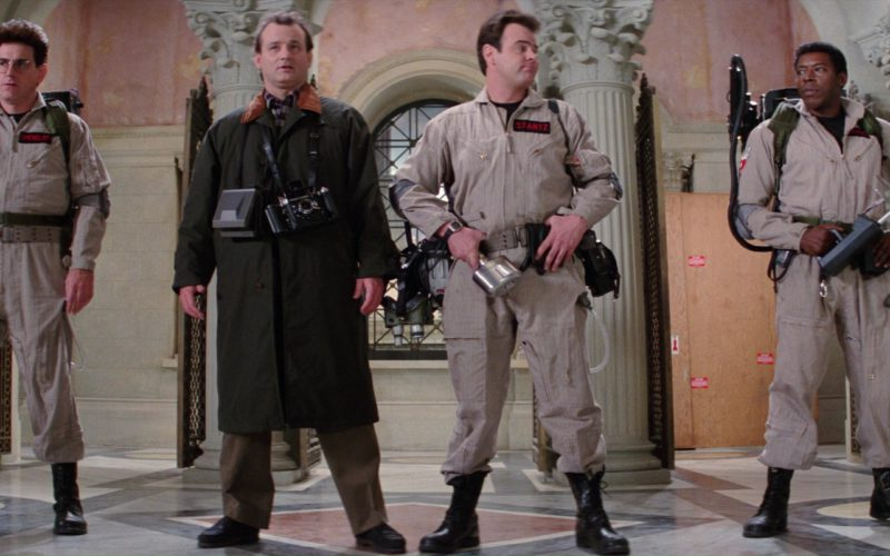 Polaroid and Brooks Veriwide Cameras Used by Bill Murray in Ghostbusters 2