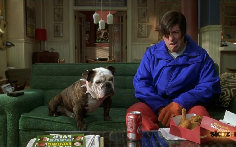 Popeyes and Coca-Cola in Little Nicky