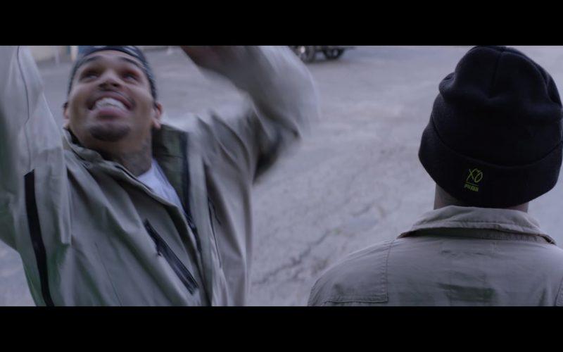 Puma Beanie Worn by Joyner Lucas in Stranger Things ft. Chris Brown (1)
