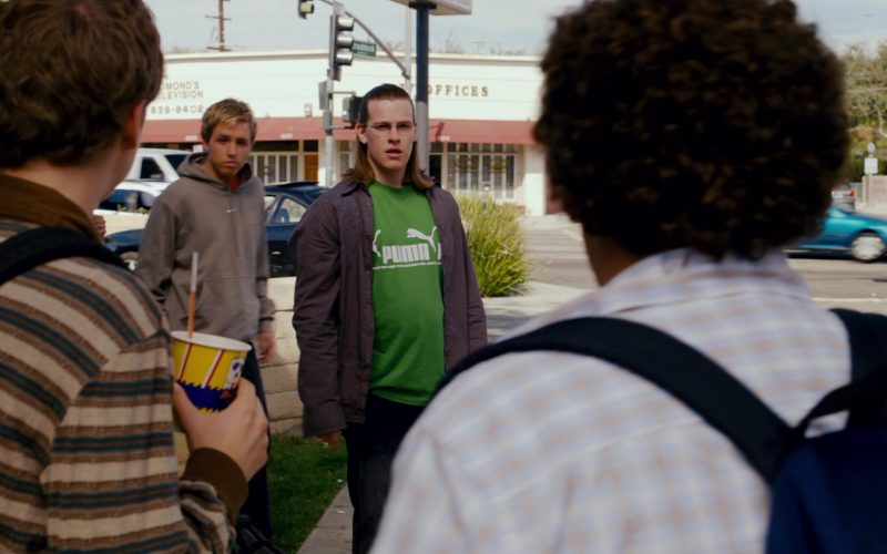 Puma Men's Green T-Shirt in Superbad (3)