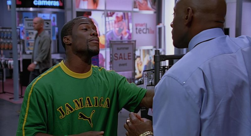 Puma T-Shirt Worn by Kevin Hart in The 40-Year-Old Virgin (2005) Movie Product Placement