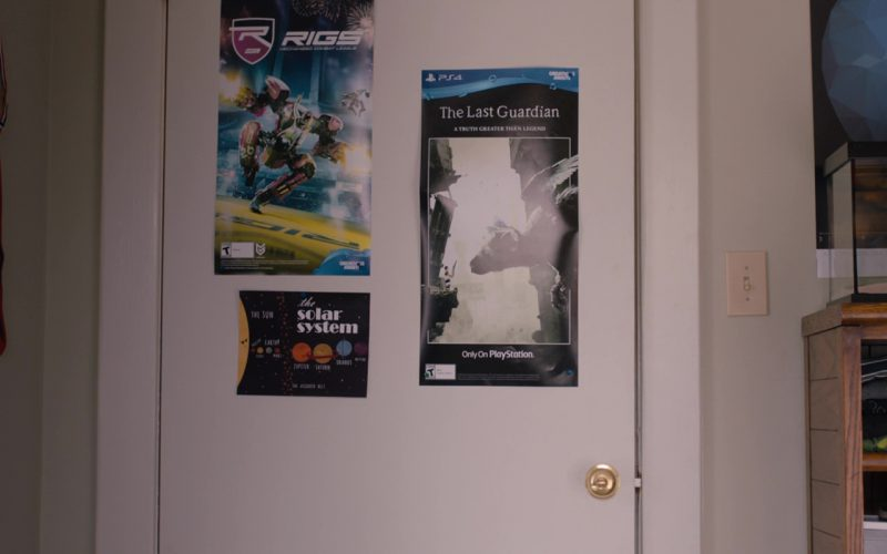 RIGS Mechanized Combat League and The Last Guardian (PlayStation 4 Video Games Posters) in Jumanji (1)