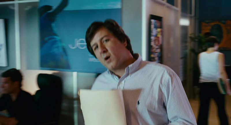 Ralph Lauren Men's Shirt in Knocked Up (2007) Movie Product Placement
