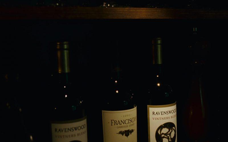 Ravenswood Wine Bottles in Knocked Up