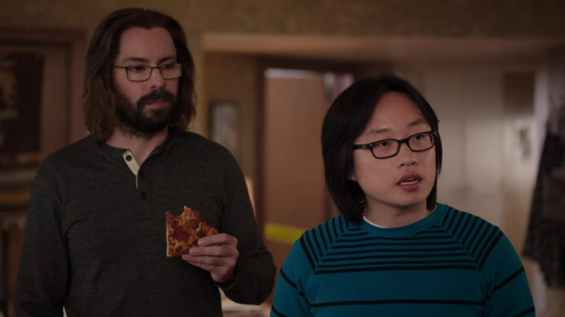 Ray-Ban Men's Glasses Worn by Jimmy O. Yang (Jian-Yang) in Silicon Valley: Grow Fast or Die Slow (2018) - TV Show Product Placement