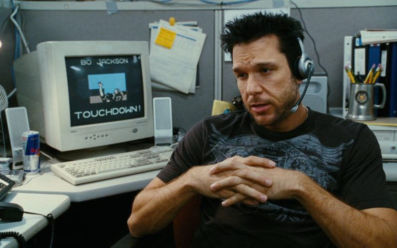 Red Bull and Nec Monitor Used by Dane Cook in My Best Friend's Girl (2008) Movie Product Placement