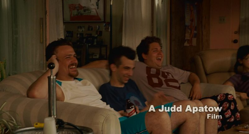 Red Stripe Beer and Jason Segel in Knocked Up (2007) - Movie Product Placement
