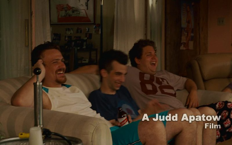 Red Stripe Beer in Knocked Up (2007)
