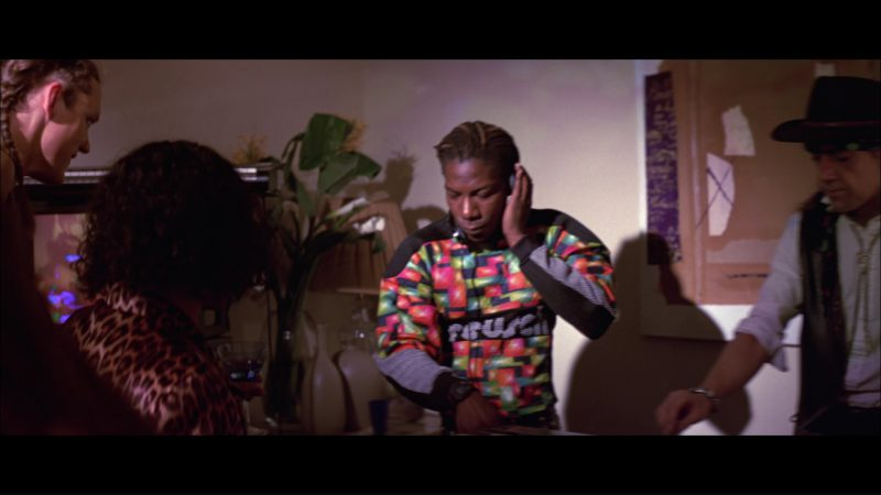 Reusch Sweatshirt Worn by Laurence Mason in Hackers (1995) Movie Product Placement