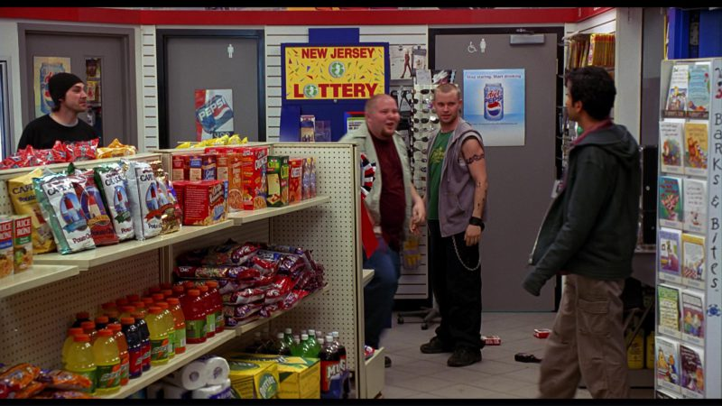 Rice-A-Roni, Cape Cod Potato Chips, Cap'n Crunch, Club Crackers, Cheez-It, Cream of Wheat, Gatorade, Perrier And Pepsi Posters in Harold & Kumar Go to White Castle (2004) Movie Product Placement