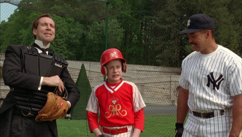 Riddell Baseball Catcher's Chest Protector Worn by Jonathan Hyde in Richie Rich (1994) - Movie Product Placement