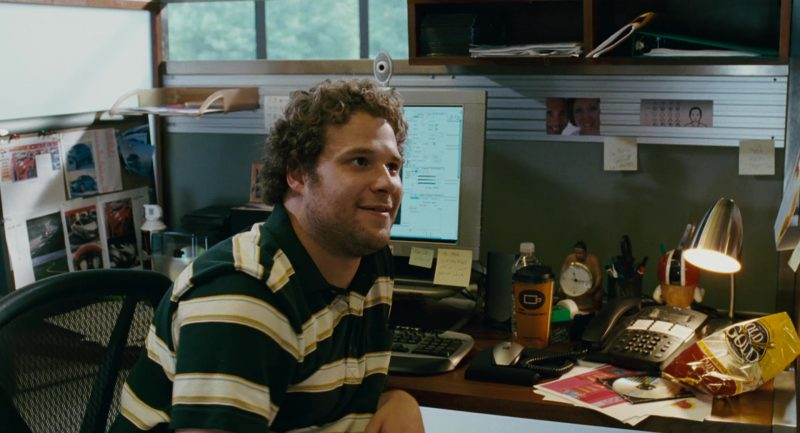 Rold Gold Pretzels and Seth Rogen in Knocked Up (2007) Movie Product Placement