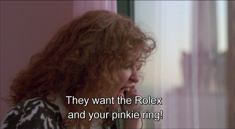 Rolex President Watch Worn by Danny DeVito in Ruthless People (1986) Movie Product Placement