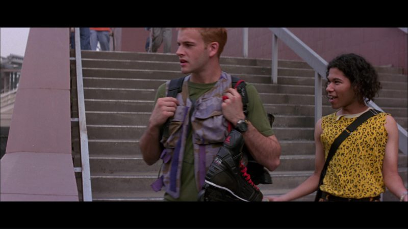 Rollerblade Inline Skates Used by Jonny Lee Miller in Hackers (1995) Movie Product Placement