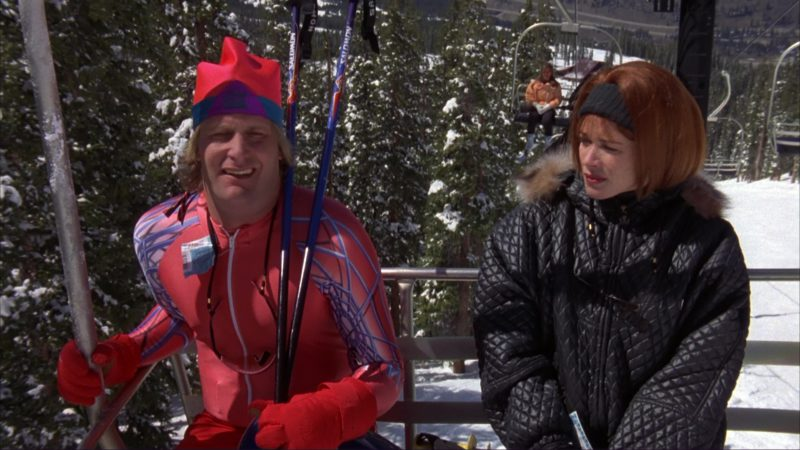 Salomon Alpine Ski Poles Used by Jeff Daniels in Dumb and Dumber (1994) Movie Product Placement